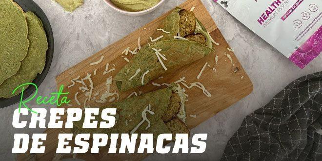Crepes de Espinacas