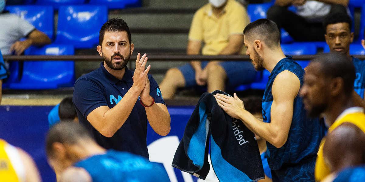 Javier Zamora entrenador Movistar Estudiantes