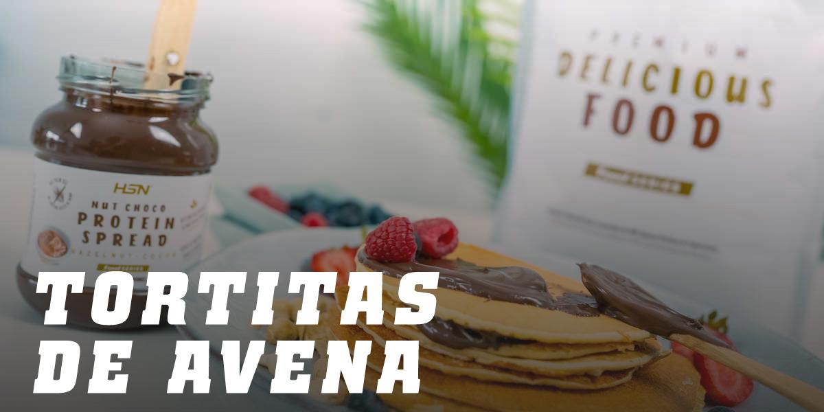 Recetas Tortitas de Avena HSN