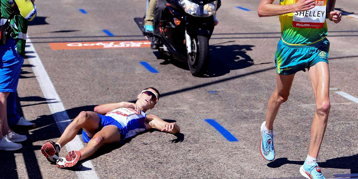 Abandono de maratón