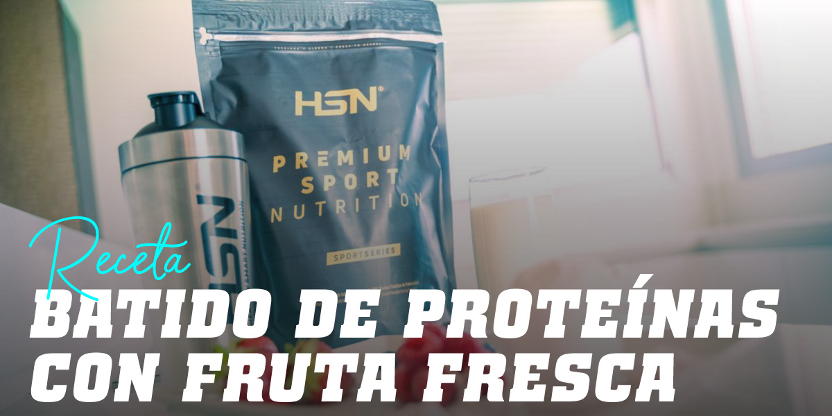Batido de Proteínas con Fruta Fresca