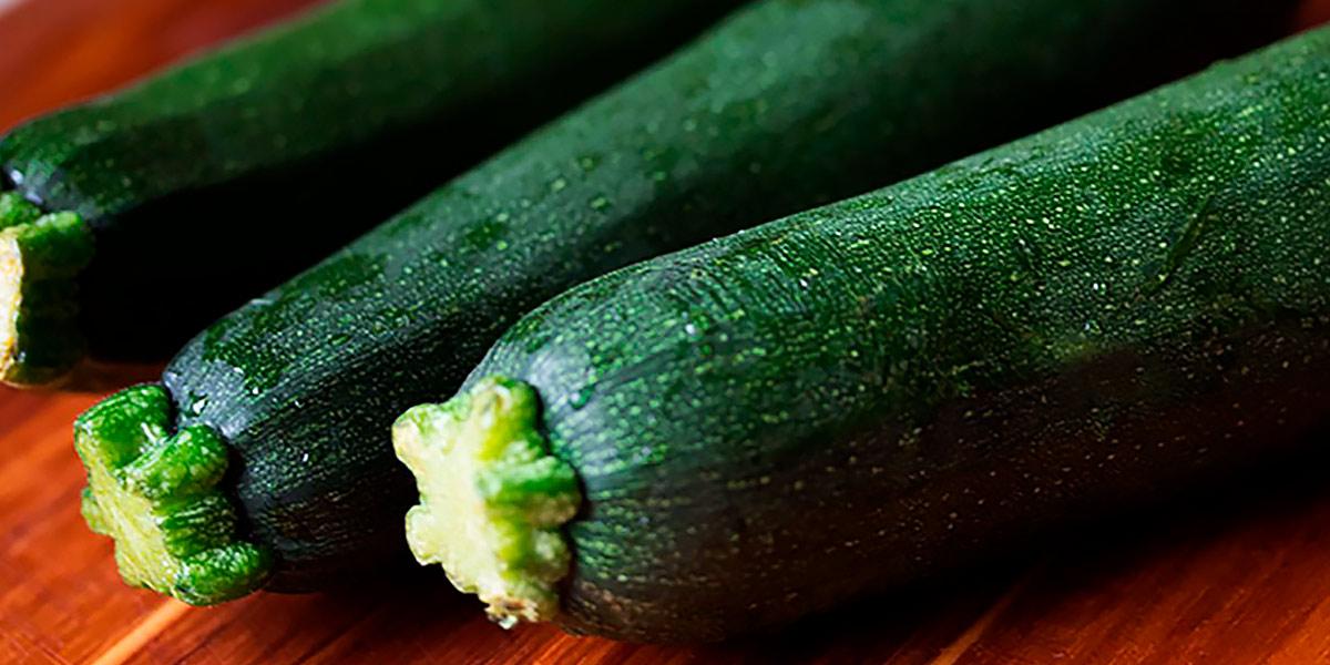 Calabacín en la dieta keto vegana