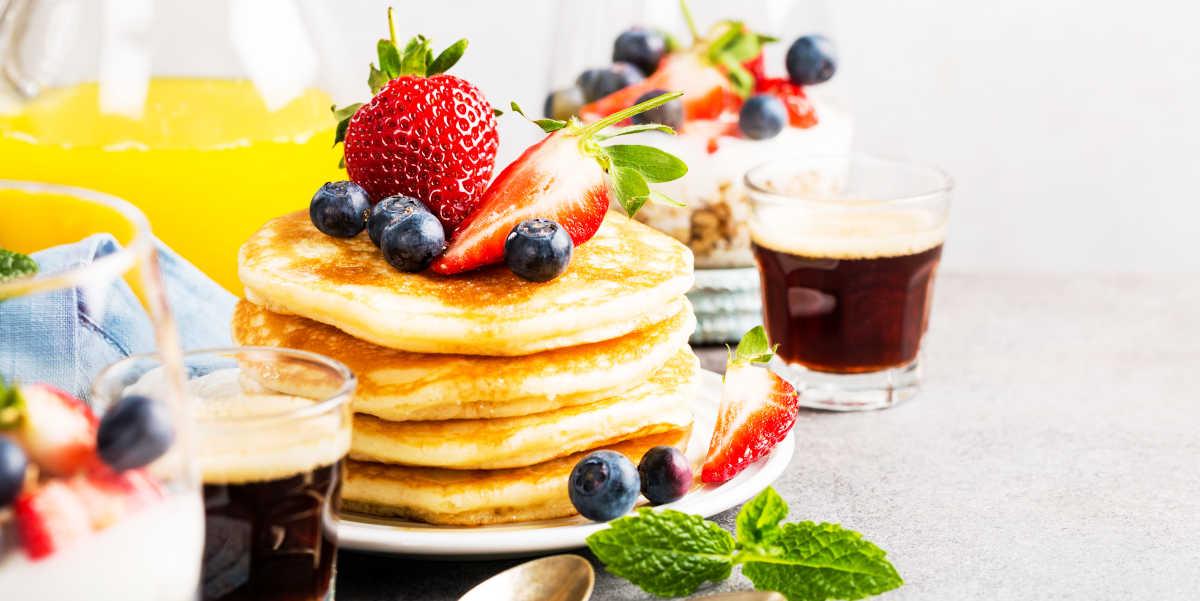 Desayuno de Tortitas de Avena