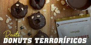 Donuts Terroríficos para Halloween