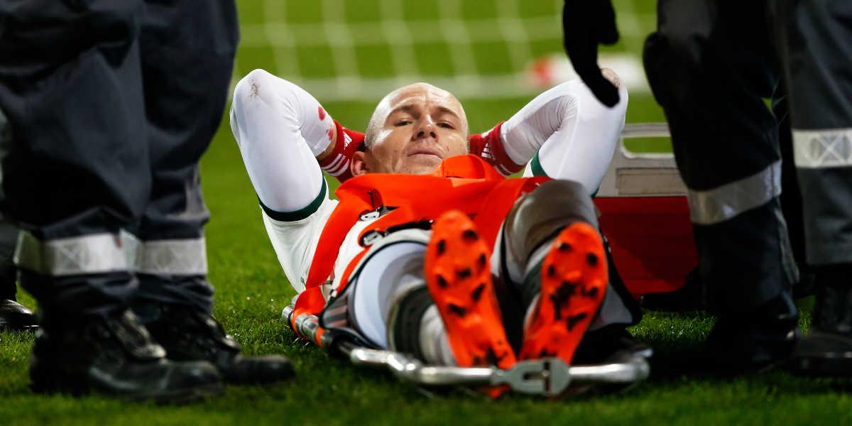 Tipos de lesiones en el fútbol