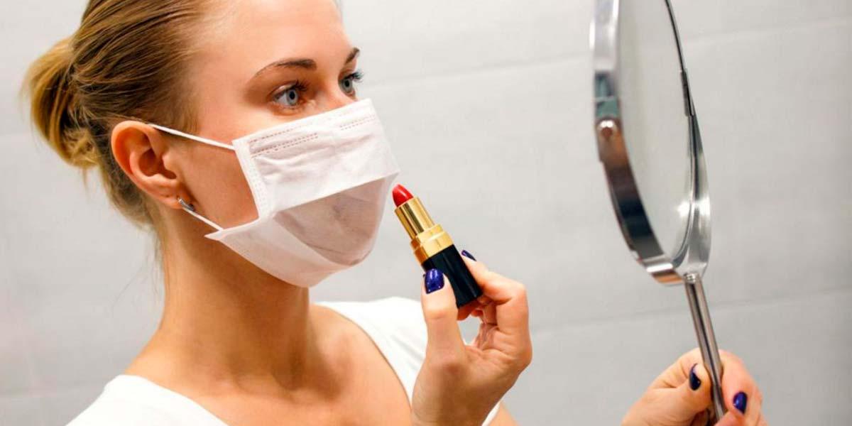 Maquillaje y uso de mascarilla