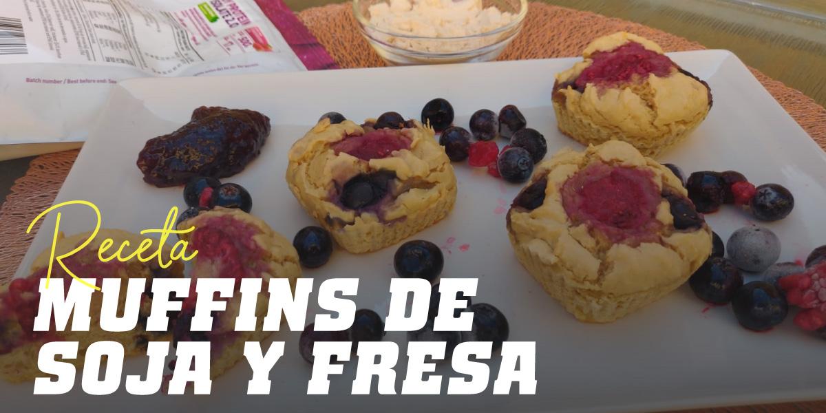Muffins con Proteína de Soja