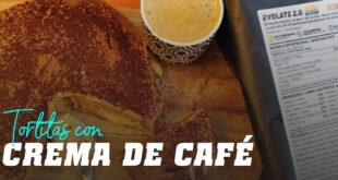 Tortitas con Crema de Café