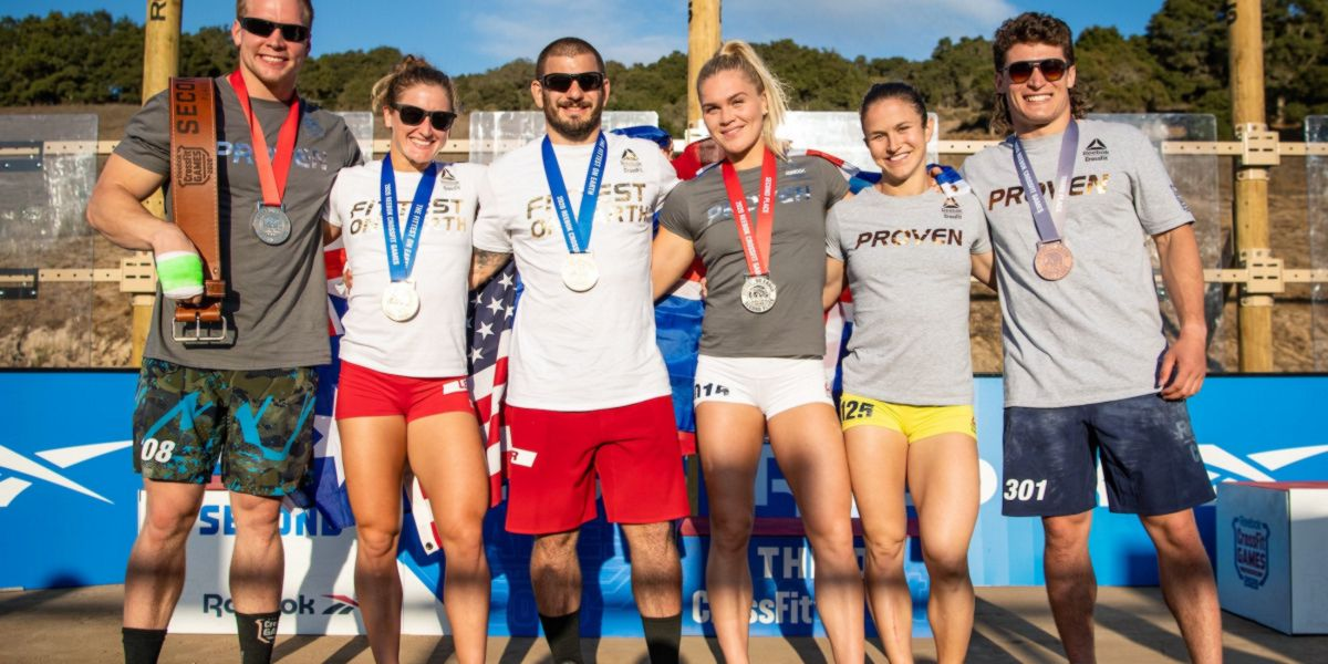 CrossFit Games 2020 Podium
