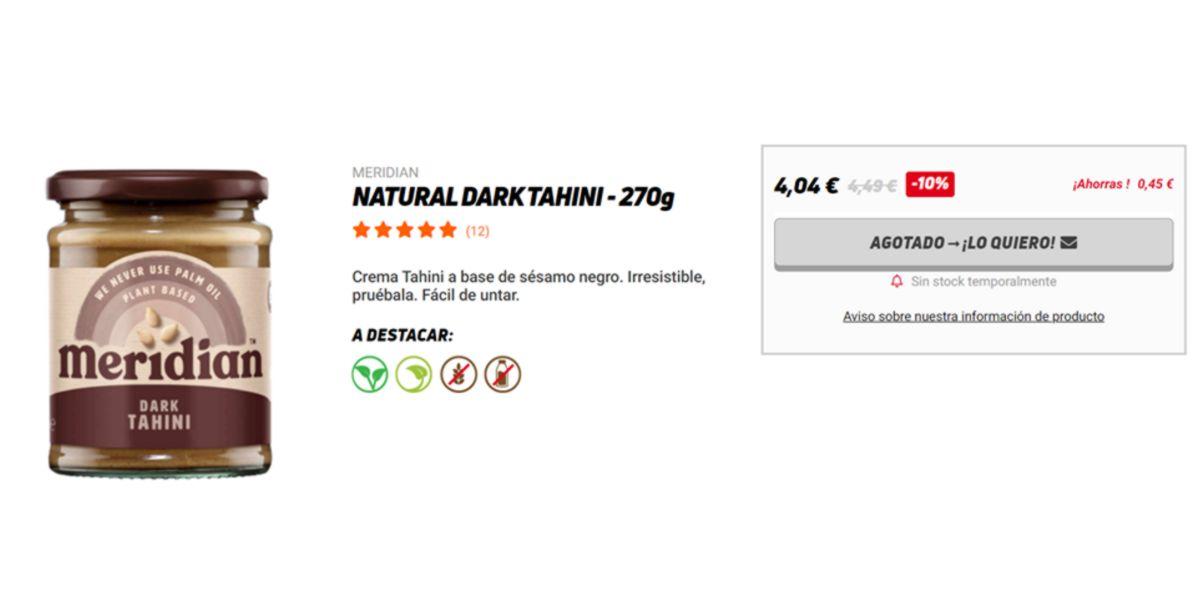 Dark Tahini