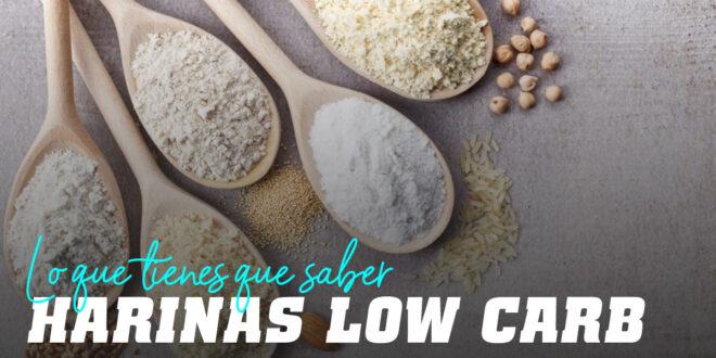 Harinas Bajas en Carbohidratos: Todo lo que debes Saber
