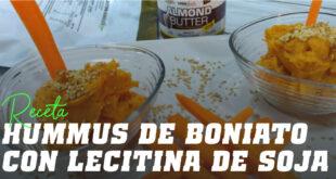 Hummus de Boniato con Lecitina de Soja