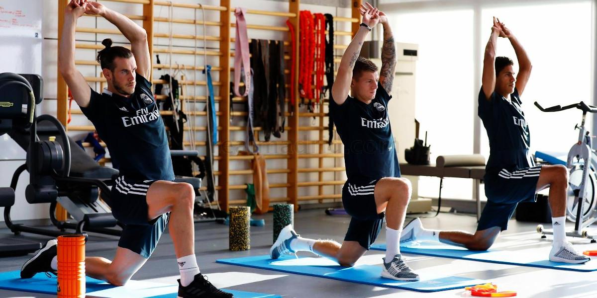 ¿Cómo trabaja el volumen muscular un futbolista?