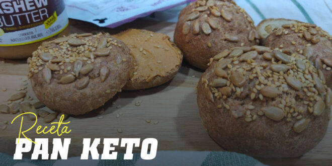 Pan Keto: ¡Para la Dieta Cetogénica!