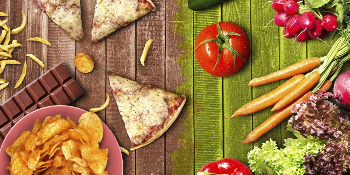 Evitar alimentos procesados