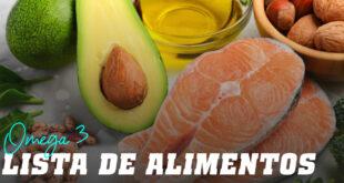 Lista de Alimentos con Omega 3