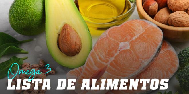 ¿Conoces los Alimentos más Ricos en Omega 3?