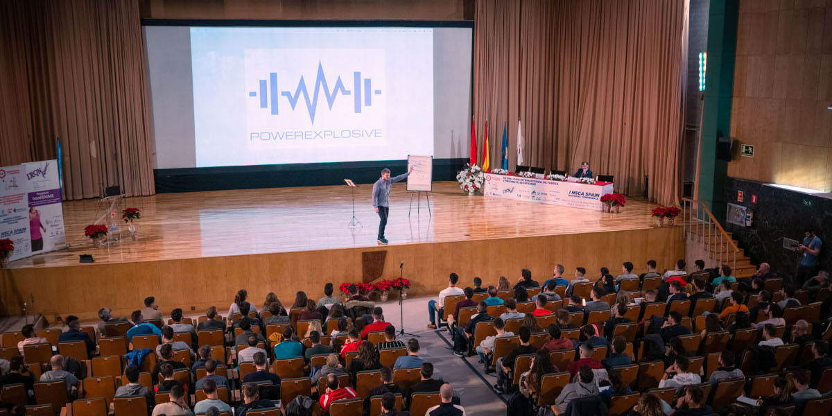 NSCA Spain National Conference 2019 Power Explosive