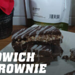 sandwich de brownie