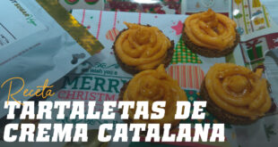 Tartatelas de Crema Catalana