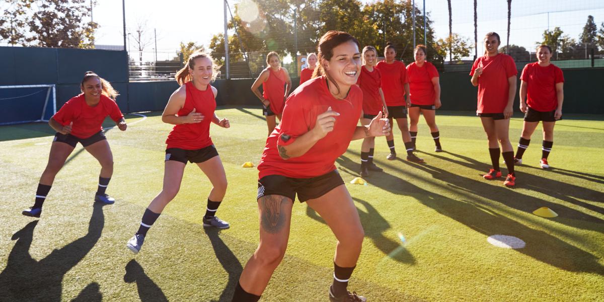Prevención lesión cuádriceps fútbol