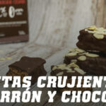 Barritas Crujientes de Turrón y Chocolate