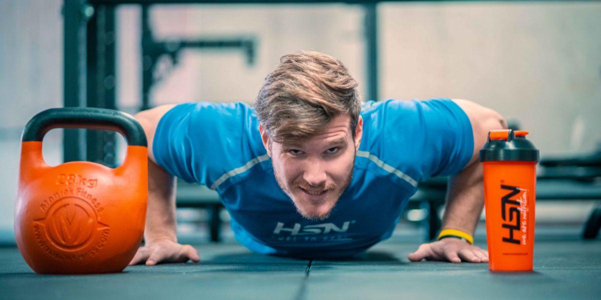 Flexiones para resistencia muscular