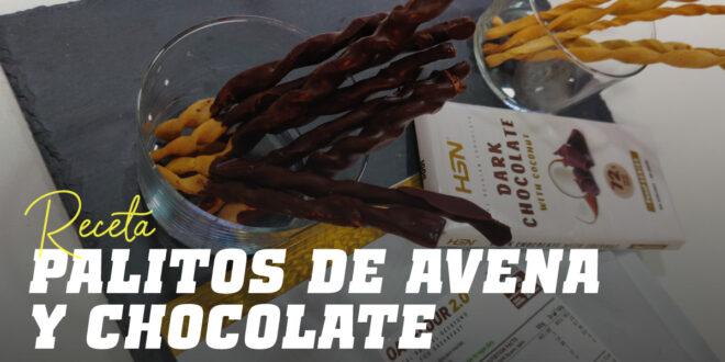 Palitos de Avena y Chocolate