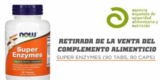 Retirada Super Enzymes