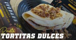 Tortitas Dulces y Saladas con Evobars