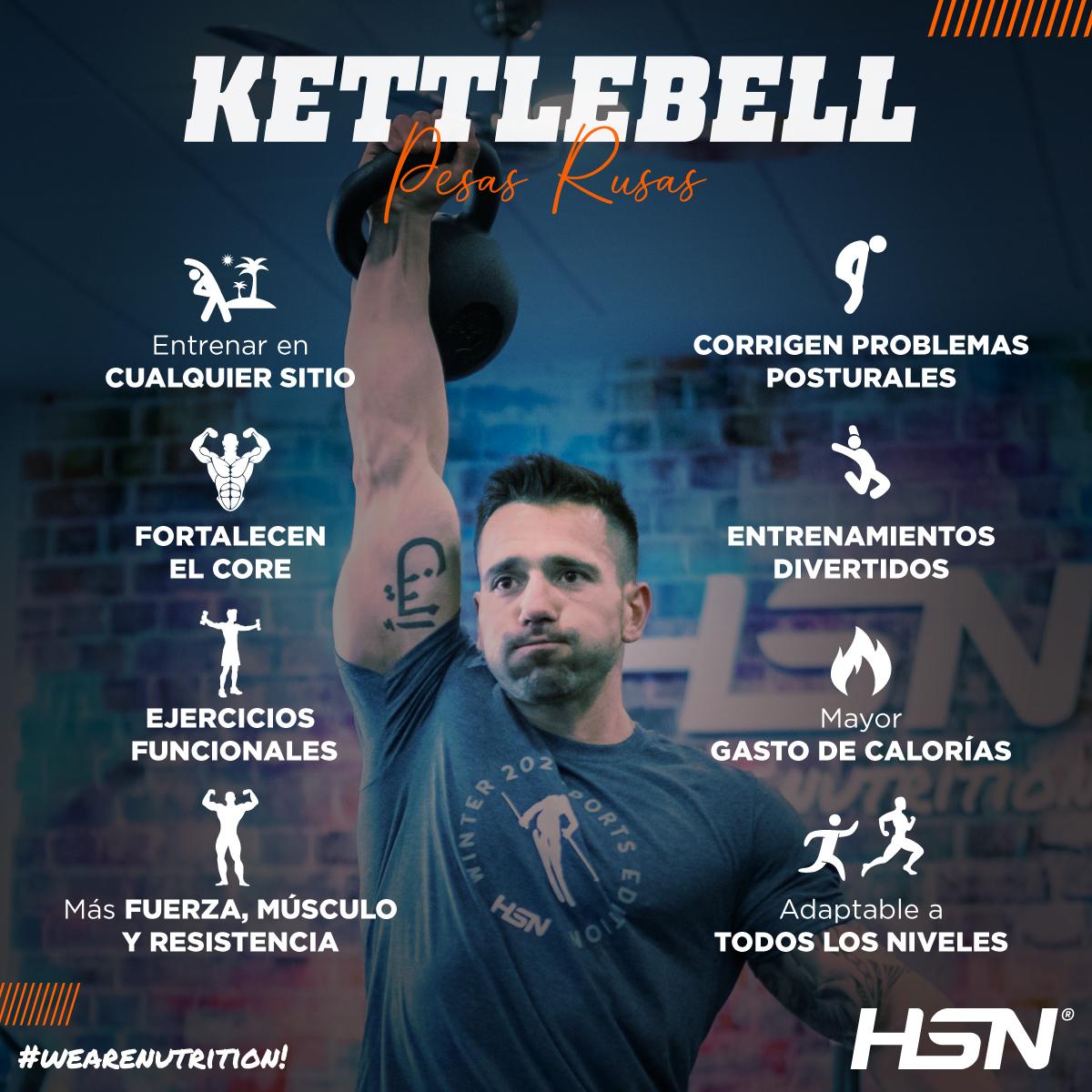 Anímate y prueba el entrenamiento kettlebell