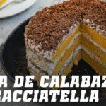 Tarta de Calabaza y Stracciatella