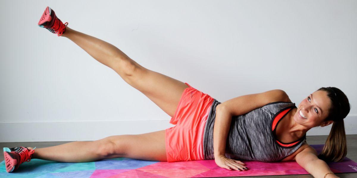Elevación lateral de pierna