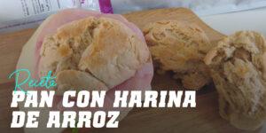 Pan con Harina de Arroz