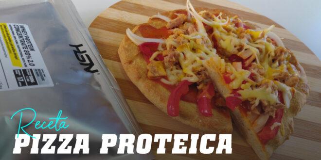 Base de Pizza Proteica con Whey Protein