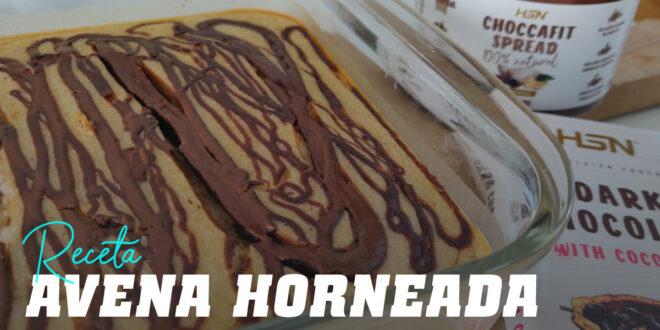 Avena Horneada ideal para la Merienda