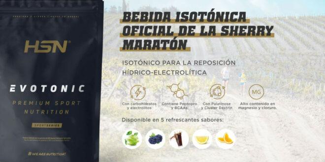 HSN regará de bebida isotónica y nutrirá de alimentos saludables la Sherry Maratón 2021