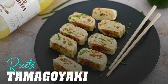 Tamagoyaki receta de tortilla japonesa