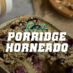 Porridge de Avena Horneado