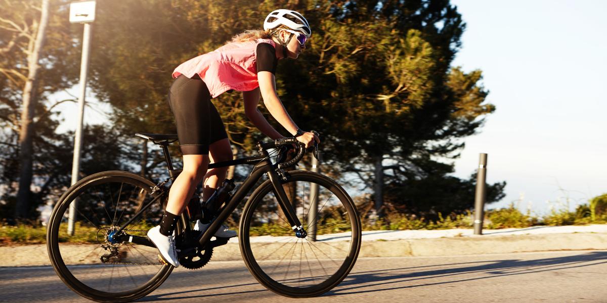 Entrenamiento ciclismo en verano