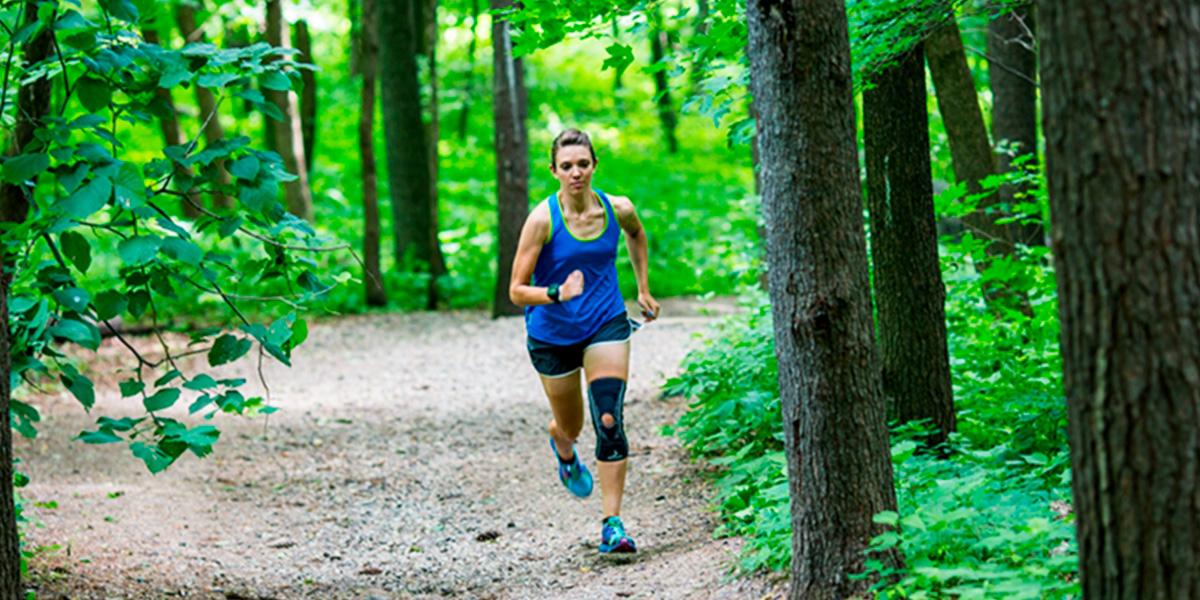 ¿Es seguro utilizar rodilleras para correr si no estás lesionado?
