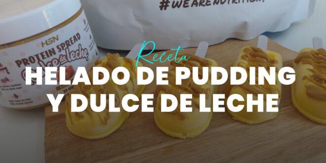 Helado de Pudding Proteico