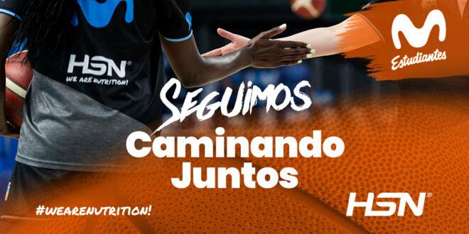 HSN & Movistar Estudiantes, Caminamos Juntos las dos próximas temporadas