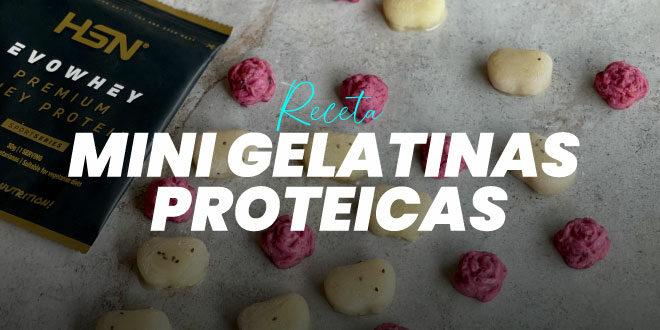 Mini Gelatinas Proteicas con Fruta Natural