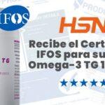 Certificado IFOS de HSN para Ultra Omega-3 TG 1000mg