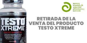 Retirada producto Testo Xtreme