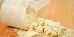 Proteina de soja em pó