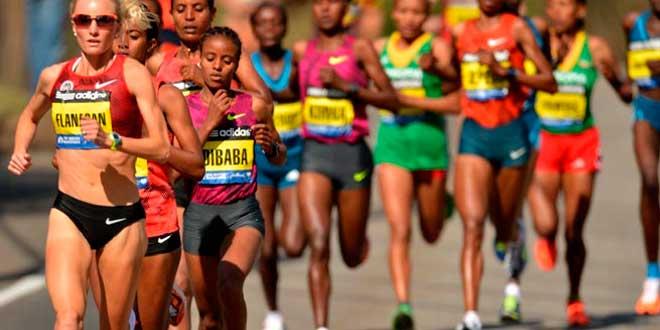 corredor de maratões