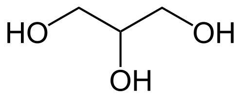 Molecula glicerol