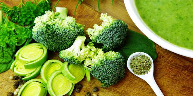 verduras verdes beneficios